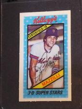 1980 Kelloggs 3-D Lee Mazzilli #38 Mets NM/MT 002