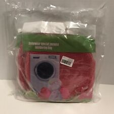 NEW Set Of Three Underwear Laundering Bags Special Purpose Pink Mesh - Sealed