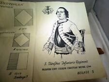 KCR Westfalen standarten fahnen Danisches Infantrie regt. Uniform 1812 flag