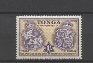 No: 102741 - TONGA - AN OLD 1 SHILLING STAMP - MH!!