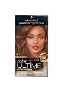 Schwarzkopf Color Ultime Permanent Hair Color 4.1 Rich Brown
