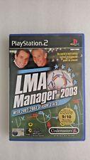 LMA Manager 2003 (Sony PlayStation 2, 2002)