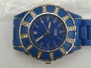 a unisex blue dialled  storm watch - good working order