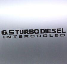 6.5 Turbo diesel Intercooled 500 x 65 mm patrol gu 4x4 Sticker Australian made