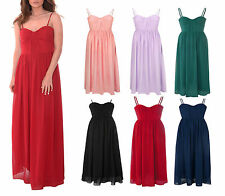 Polyester Patternless Regular Size Maxi Dresses for Women