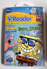 NEW V-Reader Game SpongeBob SquarePants~Vowels-Sentences-Rhyming & More Ages 5-7