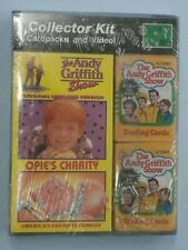 The Andy Griffith Show Opie's Charity VHS Video Card Collector set 1991