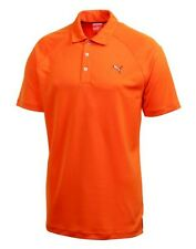 PUMA Golf Mens Raglan Tech Polo Shirt NWT pic Orange White Black Red Blue