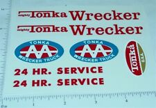 Mighty Tonka Wrecker Replacement Sticker Set TK-204