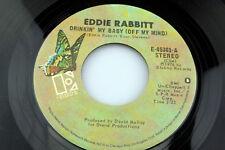 Eddie Rabbitt: Drinkin' My Baby (off my mind) / When I Was Young [Unplayed Copy]