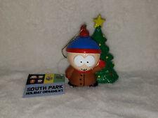 "Lot of 3 CARTMAN South Park Holiday Ornament Ball 4/"" Xmas Tree Decoration NEW"