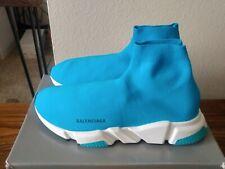 Balenciaga Speed Trainer Sneaker Turquoise SZ EU 47 | US 14