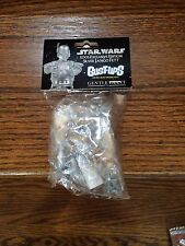 2005 Star Wars Gentle Giant Bust-ups Sealed Silver Jango Fett Exclusive Edition