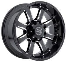 20x9 Black Rhino Sierra 6x135 ET12 Gloss Black Wheels (Set of 4)
