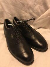 FootJoy DryJoys Black Golf Shoes FitBed IntelliGel 53456 Size 10.5