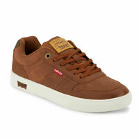 Levi's Mens Alpina WX Vegan Leather Rubber Sole Casual Fashion Sneaker Shoe
