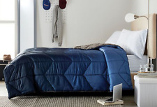 Wamsutta Collective Twin - Twin Extra Long Bed Set - Navy Blue