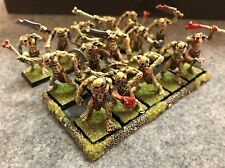 Warhammer Fantasy/Age Of Sigmar Vampire Counts: 15 Crypt Ghouls, metal, painted