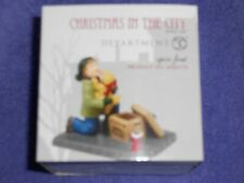 Dept 56 Christmas In The City Accessory Open First Nib