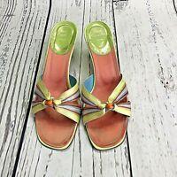 Vintage Rene Caovilla Knotted Ribbon Sandal Women's  Size 39