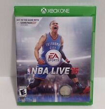 XBOX ONE NBA LIVE 16 EA Sports Disc Only EUC 1-4 Players 2015