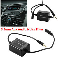 3.5mm Aux Audio Noise Filter Ground Loop Isolator Eliminate for Car Audio System