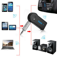 3.5mm Stereo AUX Car Bluetooth Audio Music Receiver Adapter Wireless For Samsung