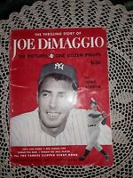 1951 The Thrilling Story of Joe DiMaggio Book, FIRST EDITION, 4TH PRINTING