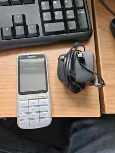 Nokia C3-01 - Silver (Virgin Mobile) Mobile Phone
