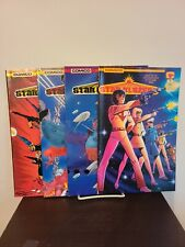 Starblazers Comic Books Set 1-4 Mini Series Based on Tv Show Nm Comico Comics