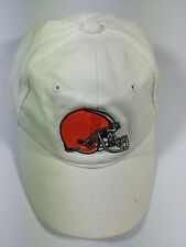 Cleveland Browns NFL Reebok Hat Cap Boy Size 8-20 One Size Fits All White