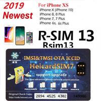 HEICARD UNLOCK Chip for iPhone X XS 8 7 6S Plus Unlocking Sim Card ICCIDIOS 13.3