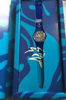 1 Magnifique Montre Swatch Numéroté Neuve Sydney 2000 Exclusif