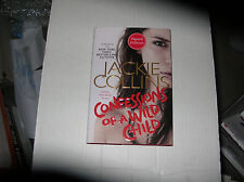 Confessions of a Wild Child by Jackie Collins (2014, Hardcover) SIGNED 1st/1st