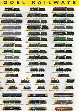 """Hornby 2004 Range """"Wallchart"""" Leaflet"""