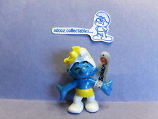 SMURF -- NWT --  50th Anniversary Party  Yellow Bow