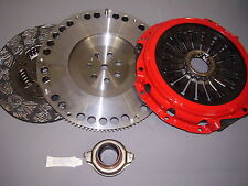 VW GOLF 1.9TDI TDI MK3 MKIII HEAVY DUTY CARBON NITRIDE CLUTCH & FLYWHEEL
