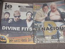 Lot 9 Illinois(Chicago)Entertai ner Magazines Pearl Jam Gotye Megadeath 2012-17