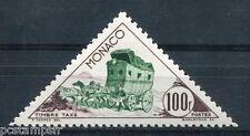MONACO - 1953, timbre TAXE 54, MALLE POSTE, CHEVAUX, neuf**