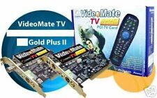 Compro VideoMate TV Gold+II PCI TV Card (Power Up Scheduling)