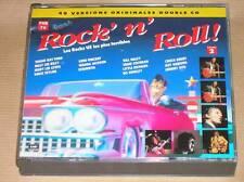 COFFRET 2 CD / ROCK'N'ROLL / LES ROCKS US LES PLUS TERRIBLES  VOL 2/ TR BON ETAT