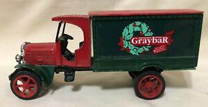 Ertl Graybar 1925 Kenworth Advertising Truck - Die-Cast Red/Green Christmas