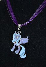 Amber Davis CUTE NICE My Little Pony MLP Princess Luna Moon Pendant Necklace