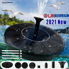 More details for solar powered water feature pump floating garden pool pond bird bath fountain .