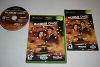 Maximum Chase Microsoft Xbox Video Game Complete