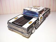"""BIG 10"""" Long Kyoei Japan tin friction 1963 Chevrolet SS  Police Car EXC+"""
