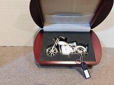 Calvin Hill Motorcycle Clock In Box