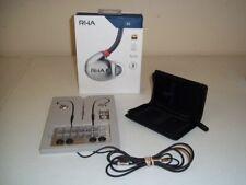 RHA T20 High Fidelity Noise Isolating, Dual Coil In-Ear IEM Headphone, Mint!