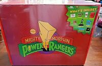 Sabans Mighty Morphin Power Rangers Collector's Box by Culturefly NEW! Sealed!