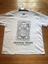BNWOT Oversized Womens White Fortune Teller ASOS T-Shirt Top Size 12-14